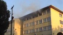 Aydın Kullanılmayan Okul Binasında Yangın Çıktı