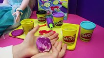 Frozen Disney My Size Elsa Doll Making Play Doh Jewelry Necklace Bracelet and Ring Tutorial