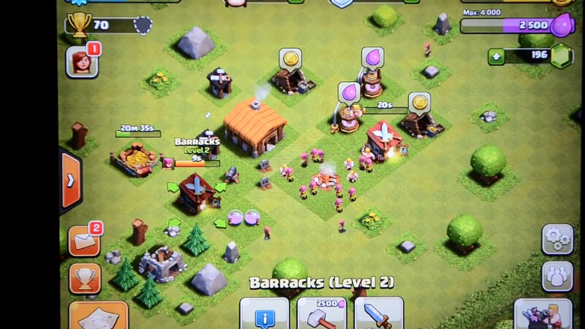 Clash of Clans- Fastest Way to 2000 Trophies / Trophy Farming Guide. Grind from 0-2000 Trophies!