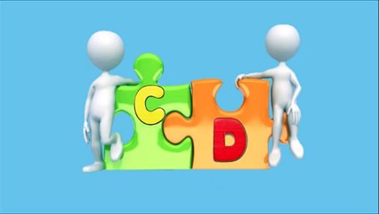 A B C alfabeto Puzzle-education