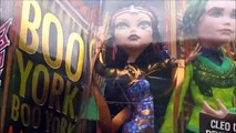 Monster High Cleo de Nile & Deuce Gorgon Boo York Dolls Unboxing Toy Review