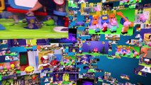 PEANUTS MOVIE Snoopy School Bus Charlie Brown Video Unboxing Toy Video