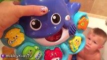 Bain bulles couleur Apprendre faire faire la musique réal chansons jouet baleine VTech bébés passe-temps hobbyk