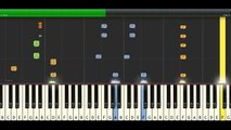 Katy Perry - California Gurls (feat. Snoop Dogg) Piano Cover With Lyrics __ Synthesia Piano Tutorial - YouTube