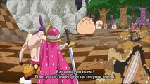 Luffy  Nami Dont Give Up On Sanji - One Piece 805