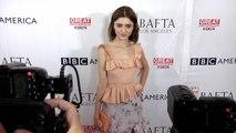 Natalia Dyer 2017 BAFTA LA TV Tea Party Red Carpet