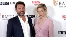 Vanessa Kirby and Benjamin Caron 2017 BAFTA LA TV Tea Party Red Carpet