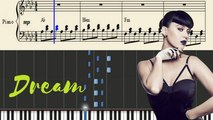 Teenage Dream Piano Tutorial - Katy Perry Lyrics -- Synthesia Piano Lesson - YouTube