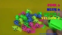 Enfants les couleurs couleurs des œufs pour enfants Apprendre les tout-petits contre avec Pokemon surprise