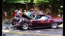 Wrecked Muscle Cars Wrecked Hot Rods Crashed Classic Cars
