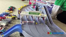 Occupé des voitures conduire autoroute chaud enfants jouets vidéo roues monde Tomica disney takara tomy