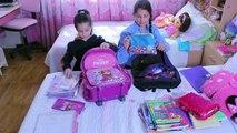 روتين مايا و لين الصعيدي الصباحي للمدرسة  Morning School Routine