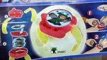 Oeuf des œufs hippopotame joie ouverture jouets avec 3 kinder surprise cool kinder surprise