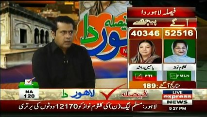 Faisla Lahore Da on Express News - 9pm to 10pm - 17th September 2017