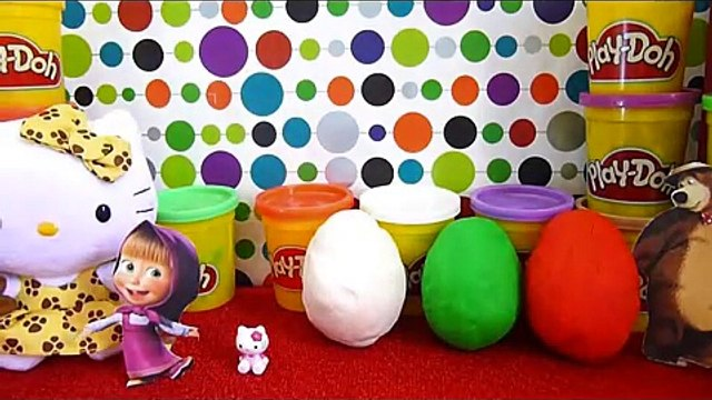 Hello Kitty Маша и Медведь Masha i Medved masha and the bear Surprise Egg Kinder Surprise