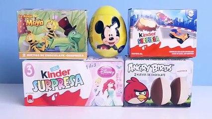 Et abeille des œufs pouliche souris Princesse le le le le la déballage MAYA minnie disney œufs surprise Surprise