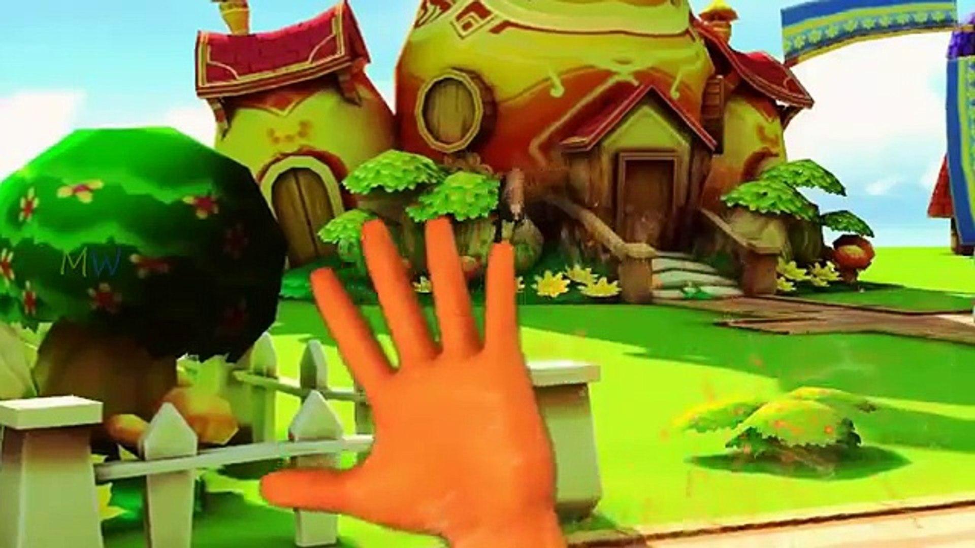 Animal Finger Family Dinosaur Cartoons For Children Monster Bear Tiger Finger Family Rhymes For Kids