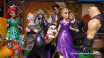 TANGLED EVER AFTER Disney Rapunzel Goes Bald Funny Tangled Video
