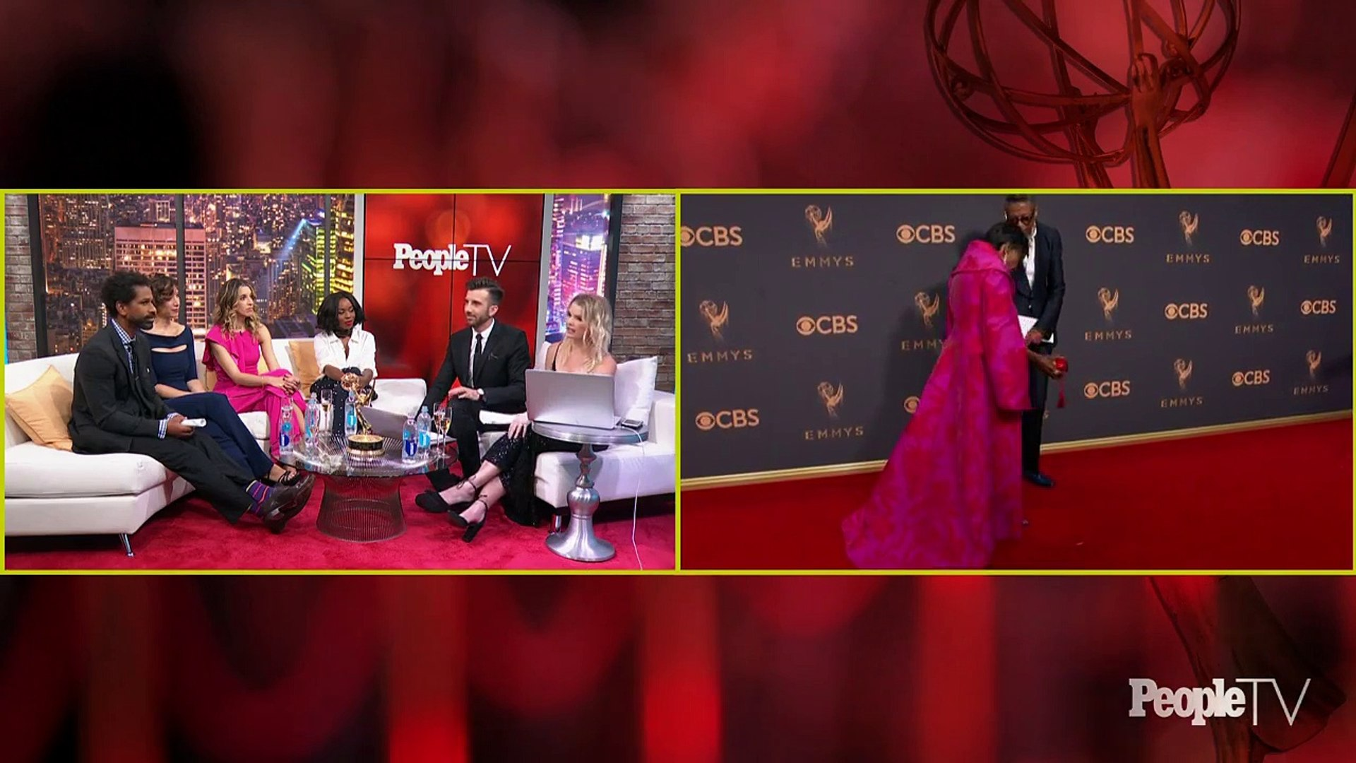 Emmys 2017 Red Carpet Live By People & Entertainment Weekly | PeopleTV | Entertainment Weekly pa