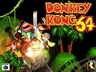 Donkey Kong 64 - Frantic Fory