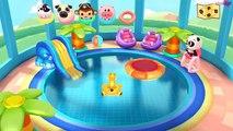 Application bébé éducatif pour complet Jeu enfants jouer piscine la natation Dr panda  