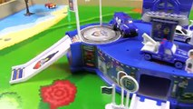 Cars for Kids   Hot Wheels and Fast Lane Police Station Playset - Fun Toy Cars for Kids