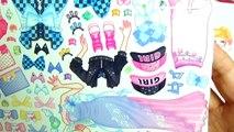 キラキラ☆プリキュアアラモード ティアドリーム ゆめのくにのプリンセス おきがえシールあそび❤️ キッズ アニメ おもちゃ Kids Anime Toy