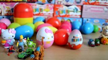 30 Surprise Eggs Kinder Surprise Disney Princess Thomas And Friends Toy Story Hello Kitty Spiderman