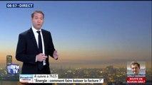 Des averses dans le nord de la France, beaucoup de nuages dans les Pyrénées, avec des températures fraîches ce lundi