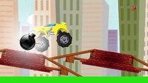 Monster LKW Stunts | Vehicles For Kids | Kids Adventure | Kids Truck | Monster Truck Stunt