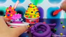 Play Doh Surprise Ice Cream meringue Dippin Dots Teletubbies Epic Mickey Mouse 2 Moshi Mon