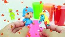 SLIME Cup Surprises Teletubbies Pocoyo Smurfs Peppa Pig Disney Toys
