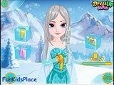 Tresses chaîne plume gelé Jeu des jeux en ligne en présentant Elsa jeux vidéo-jeux-filles