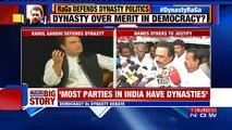 Indian Politicians React To Rahul Gandhis Comments On JK And Dynasty Politics