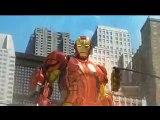 Dibujos animados sobre los coches superhéroes Spiderman persecución Hulk Iron
