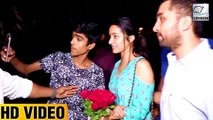 Shraddha Kapoor Clicks Pictures With Fans At Screening Of Haseena Parker