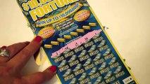 2 WINNING TICKETS!! 10 Million Dollar Fortune $25 Florida Lottery Scratcher Tickets