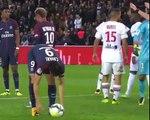 what happened between Neymar and Edinson Cavani in PSG's win