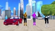Spiderman Vs Hulk Mega SuperHero Fight And Epic Battles | Spiderman Vs Hulk Fighting Video