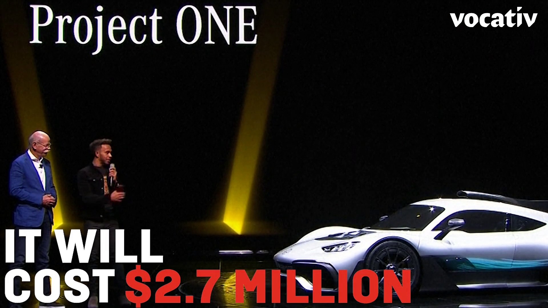 The 1,000+ Horsepower, 217+ mph, $2.7 Million, Street Legal Mercedes-AMG Project One