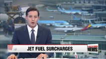 Int'l flight passengers to pay more due to jet fuel price increase