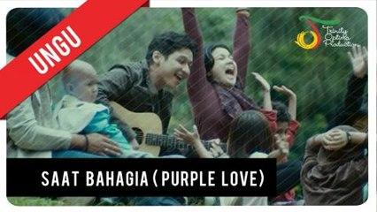 UNGU feat. Andien - Saat Bahagia (OST Purple Love) | Official Video Clip