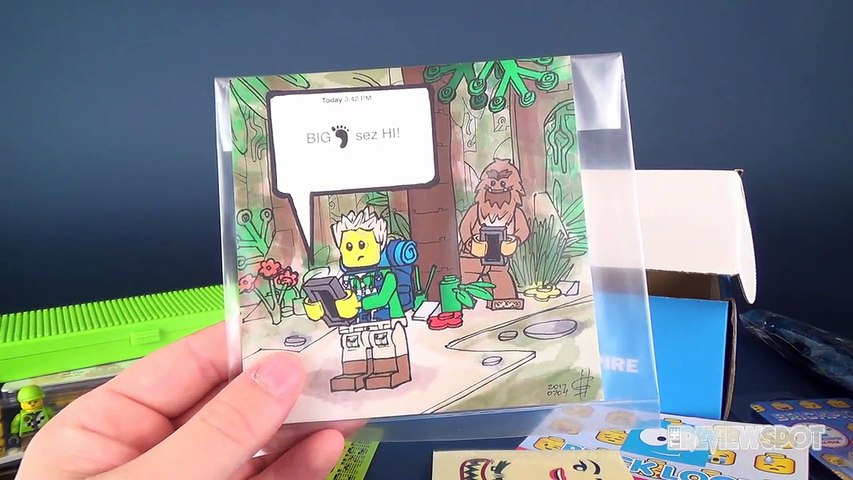 What's inside The Brickloot Subscription Box for August 2017?