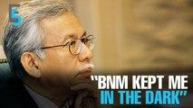EVENING 5: Daim unaware of BNM's forex trading