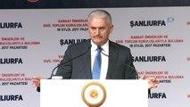 Başbakan Binali Yıldırım Şanlıurfa'da Stk'larla Toplantı Yaptı