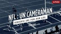 États-Unis : un caméraman renverse une pom-pom girl