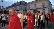 Carinaro (CE) - Festa di Sant'Eufemia, messa in piazza (16.09.17)