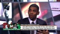 Kyrie Irving parle de sa relation avec LeBron James