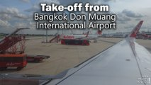 Take-off from Bangkok Don Muang International Airport