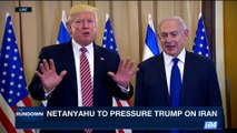 THE RUNDOWN   Trump, Netanyahu meet in New York   Monday, September 18th 2017